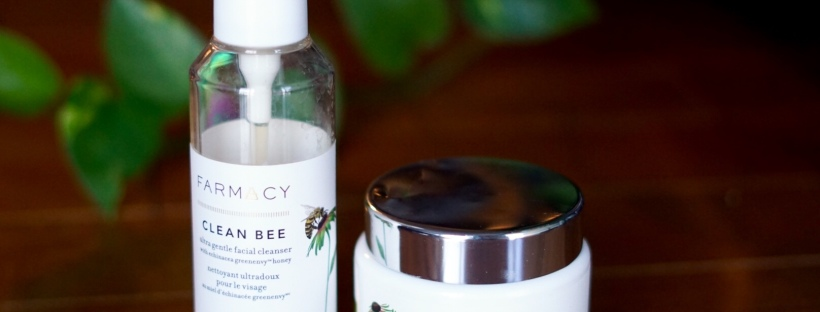 FARMACY Clean Bee Facewash and Green Clean Makeup Removing Balm